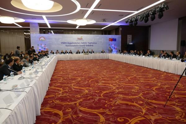 """""""Yenilenebilir Enerji Sektörü"""" çalıştayı Ankara'da gerçekleştirildi."""