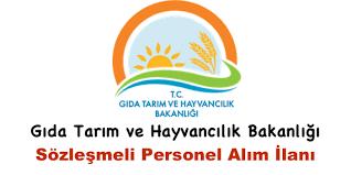 Gıda Tarım ve Hayvancılık Bakanlığından Personel Alımı Durusu