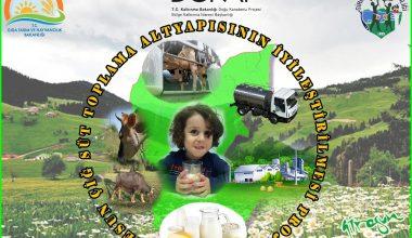 Çiğ Süt Toplama Altyapısının İyileştirilmesi Projesi Tamamlandı