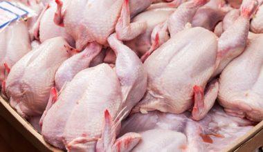 2018 yılında 174 bin 483 ton tavuk eti elde edildi