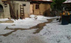 Amasya'da 10 köyü dolu vurdu