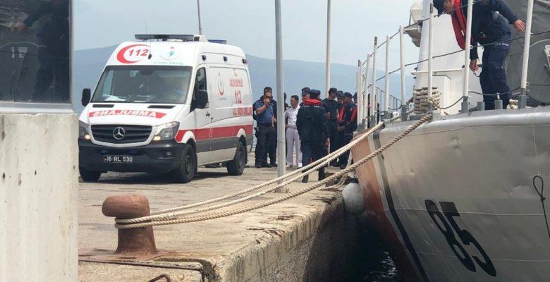 Denizde facia…Fırtına çıkınca yüzerek yardım istemeye gitti cesedi bulundu