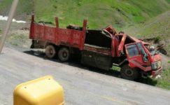 Büyükbaş hayvan yüklü kamyon takla attı, 5 inek telef oldu