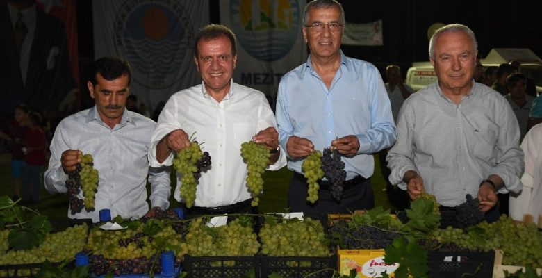 Mersin'de 3. Örtüaltı Üzüm Festivali yapıldı