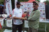 Tavşanlılı olta balıkçısı birinci oldu
