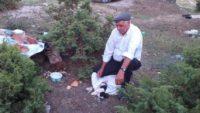 Köpek yavrularını çuvala koyup ölüme terk ettiler