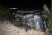 Otomobil ile traktör çarpıştı: 1'i bebek 4 yaralı
