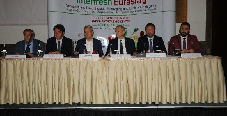 Yaş sebze ve meyve sektörü Antalya'da buluşuyor