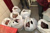 Diyarbakır'da satışa hazır vaziyette yarım ton bozuk et ele geçirildi