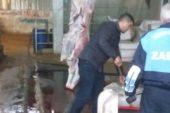Tarsus'ta 173 kilo kaçak et ele geçirildi