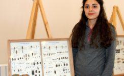 Yüzlerce türden 2 bin 500 adet böcek Erzurum'da sergileniyor