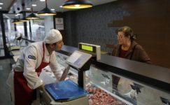 Halk Et'te bir ayda 14 ton et satıldı