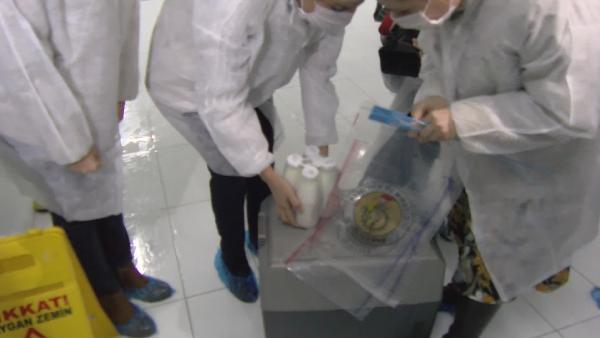 İstanbul'da süt ve süt ürünlerine denetim