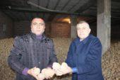 Nevşehir'de patates depolarda alıcı bekliyor