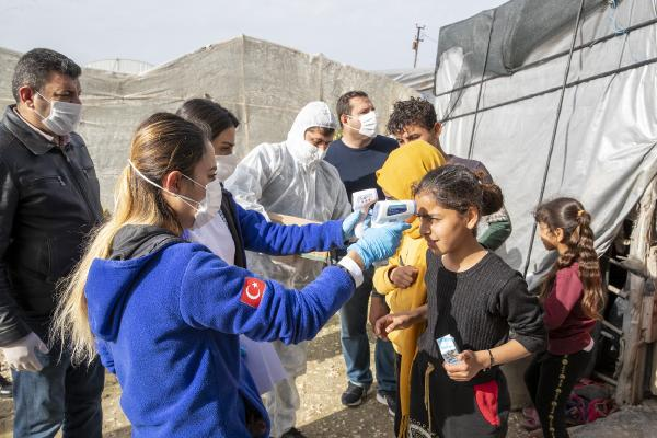 Mersin'de 800 tarım işçisi sağlık taramasından geçti