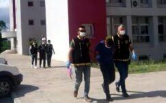 Yüzlerini maskeyle gizleyip, 2 traktör ve 1 ton zirai ilaç çaldılar