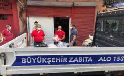 Adana'da 550 kilogram bozuk hayvansal ürün ele geçirildi