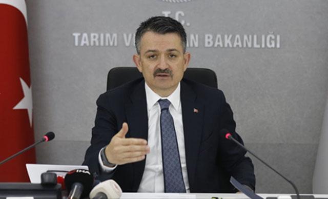 Bakan Pakdemirli: 34 projeye 35 milyon lira hibe sağlanacak