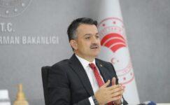 Bakan Pakdemirli: Türkiye 19 milyon ton gıda israfı yapmakta