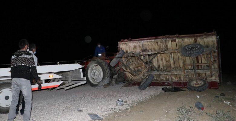 Piknik dönüşü traktör faciası: 4 ölü, 18 yaralı