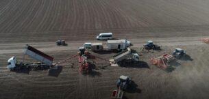 Ankara'nın tahıl ambarında güz ekimi başladı